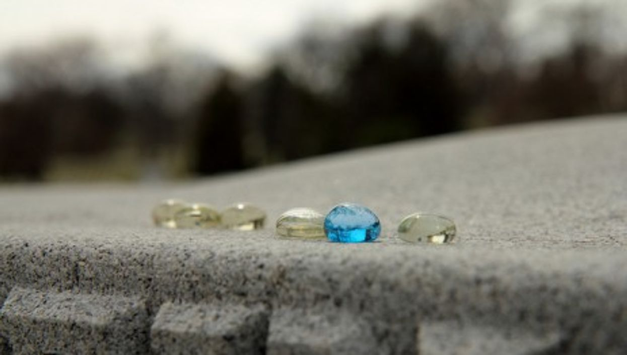 Swarovski's glass beads will be slightly more subtle than these (Mr. T in DC)