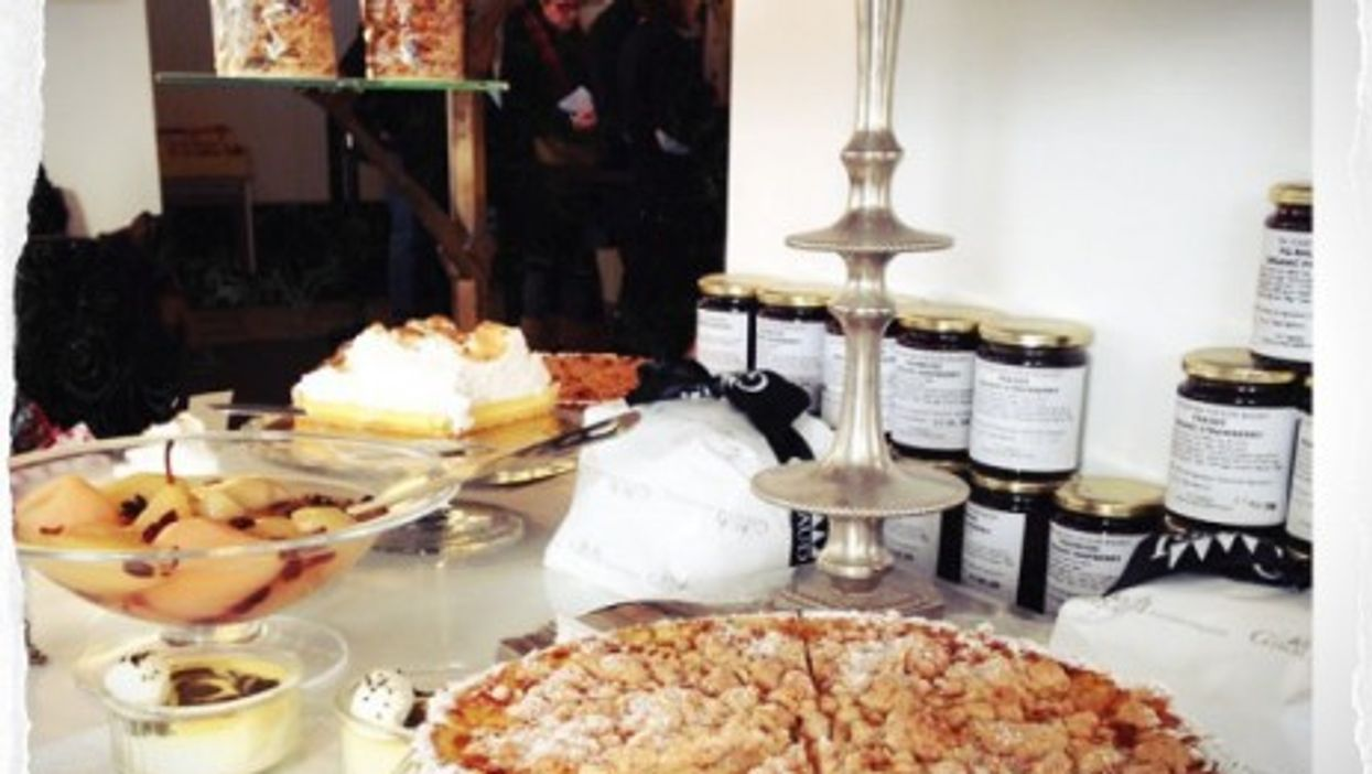 Sweet shot of Rose Bakery, Paris