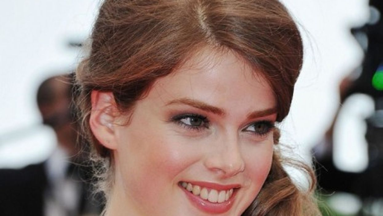 Swiss model Julia Saner is a recent high school graduate