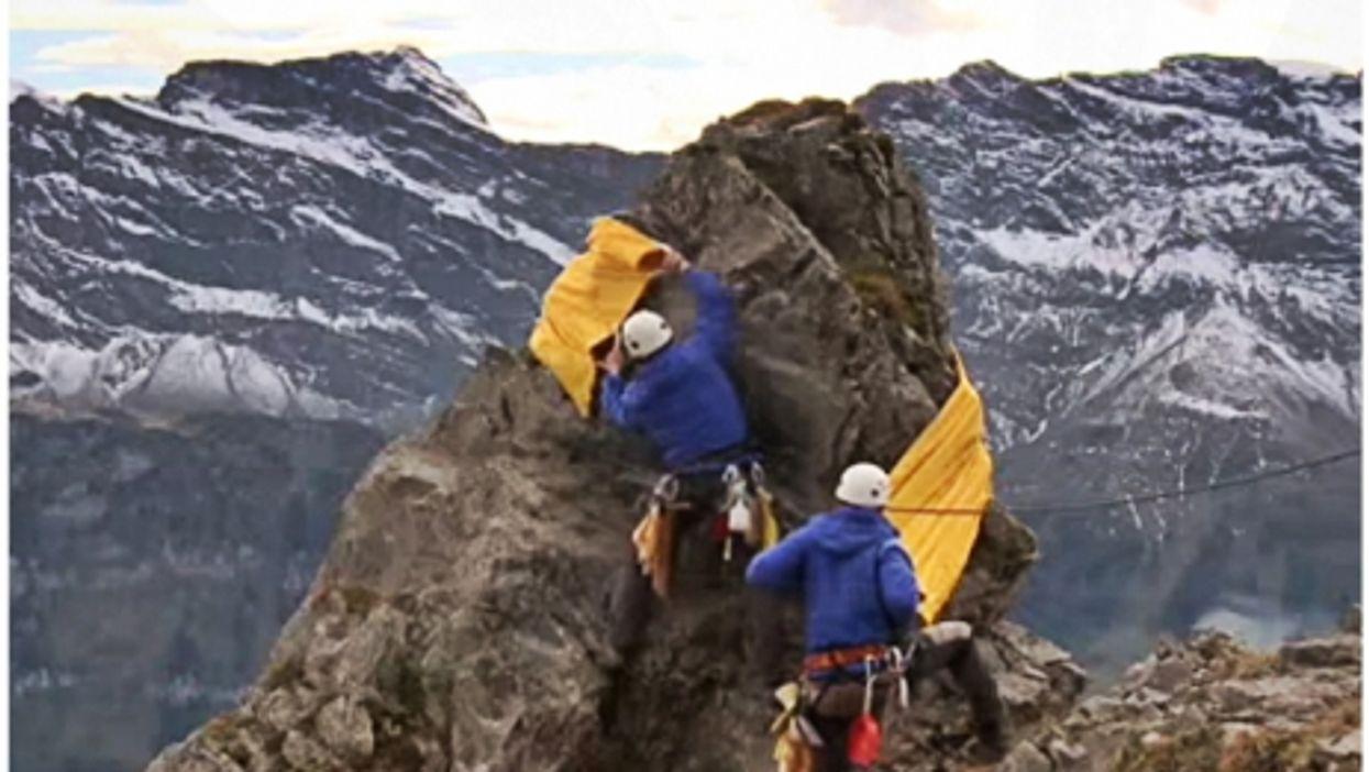 Swiss mountain cleaners