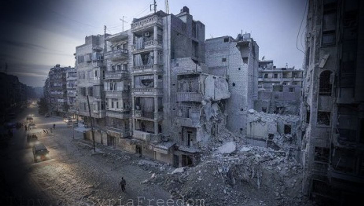Syria, a nation in rubble