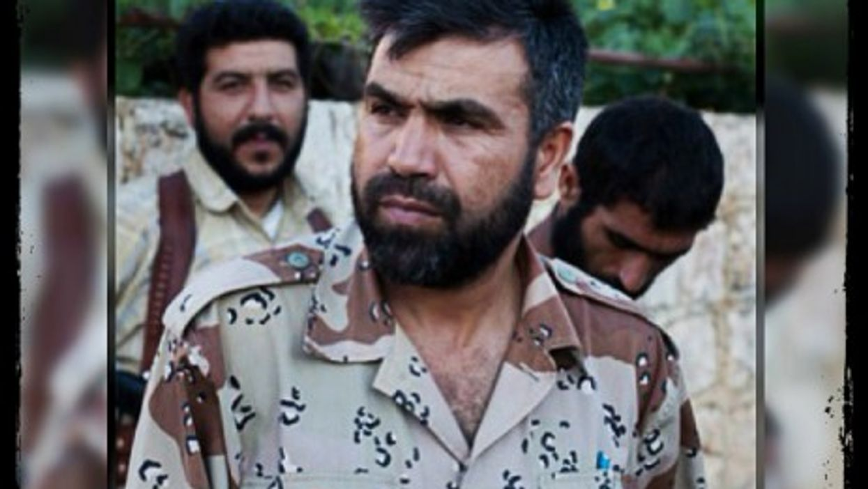 Syrian Martyrs' Brigade leader Jamal Maarouf