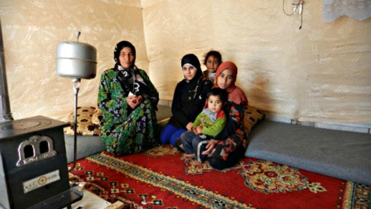Syrian refugees in Beirut, Lebanon
