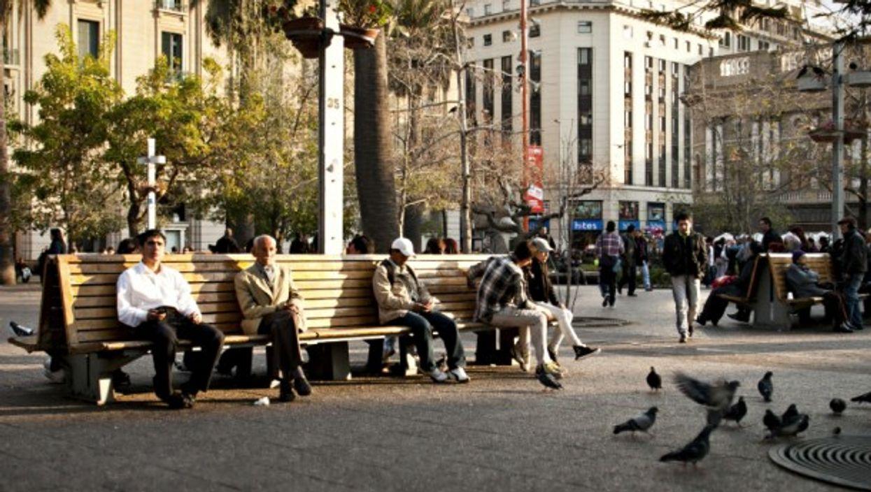 Taking in slow in Santiago