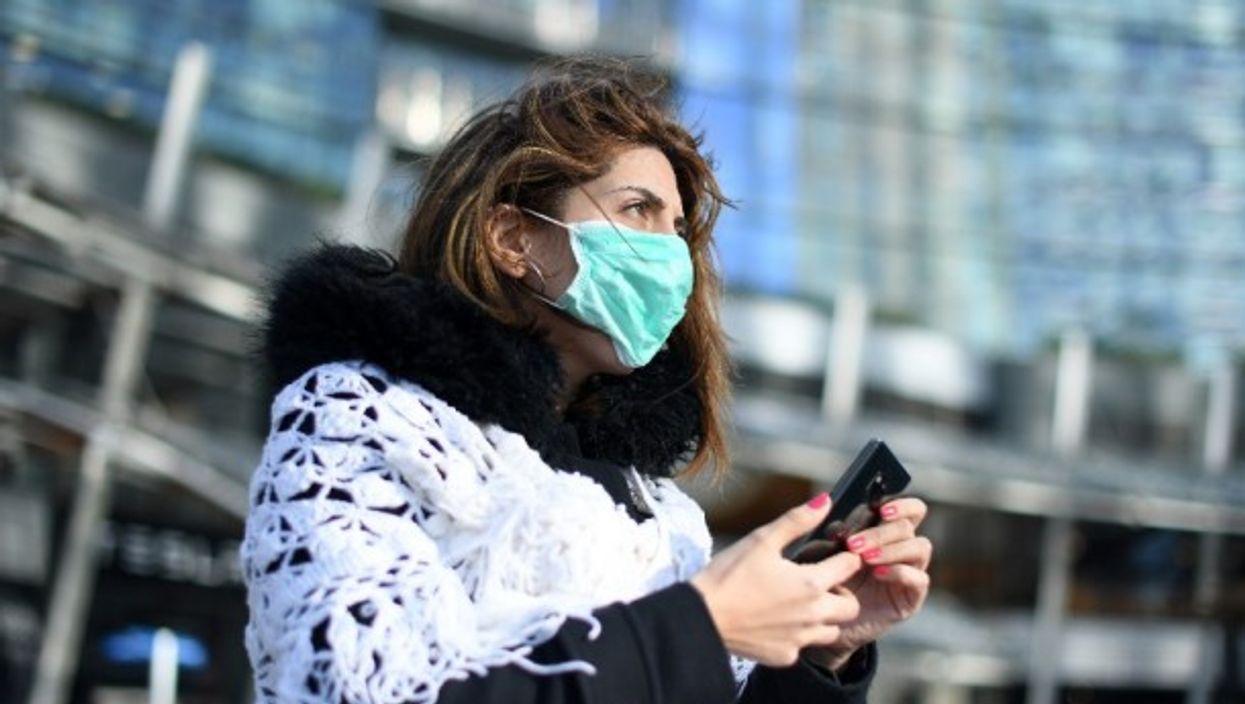 Taking precautions in Milan