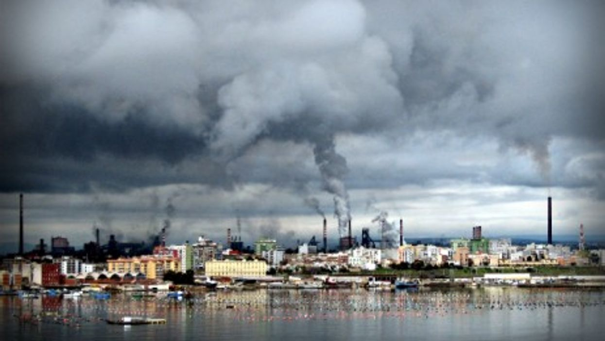Taranto's ILVA steel plant