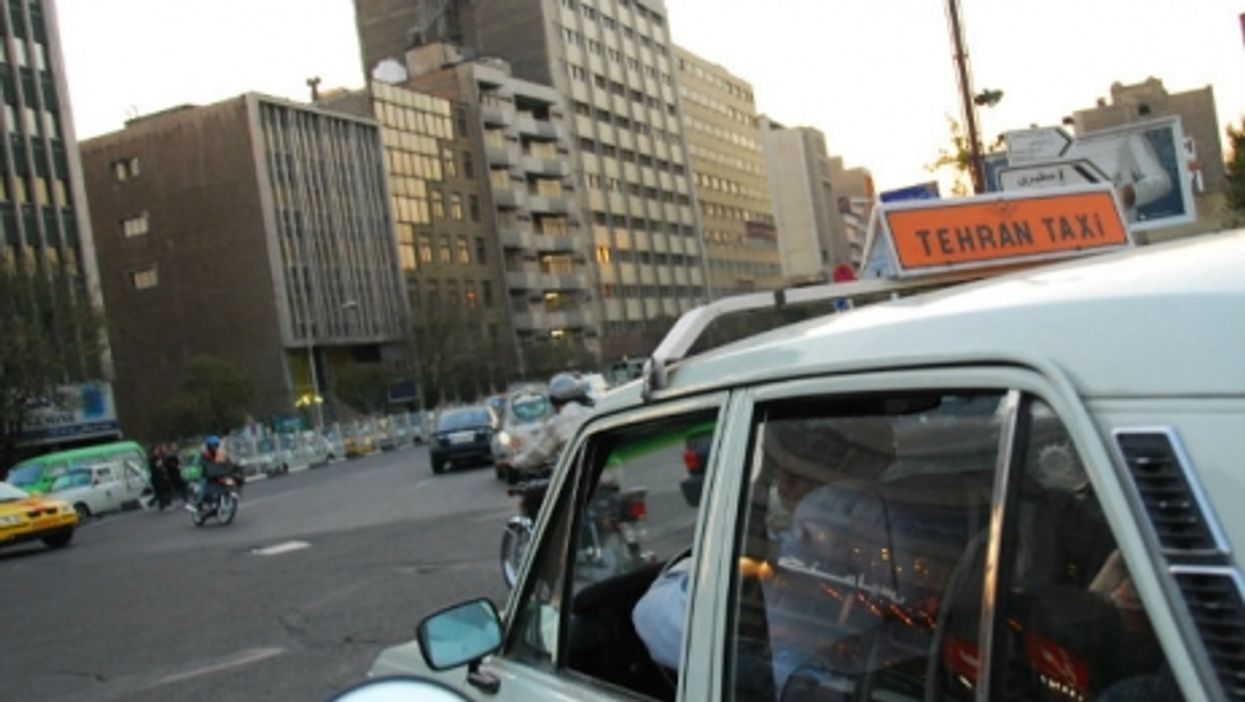Taxi in Tehran