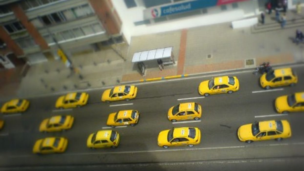 Taxis in Bogota