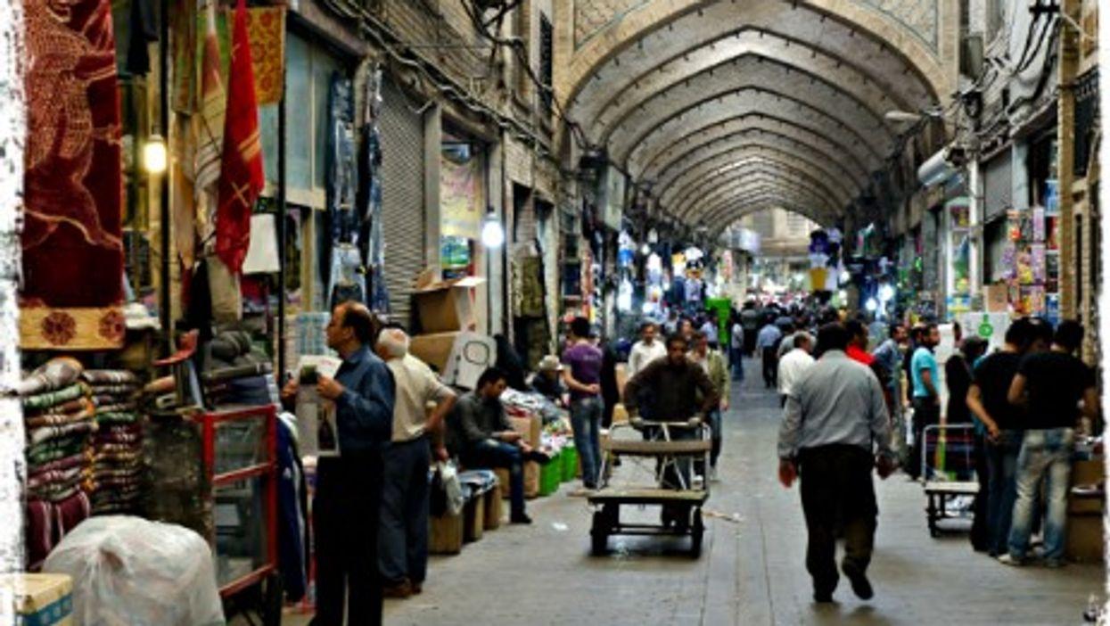 Tehran's Molavi Bazaar