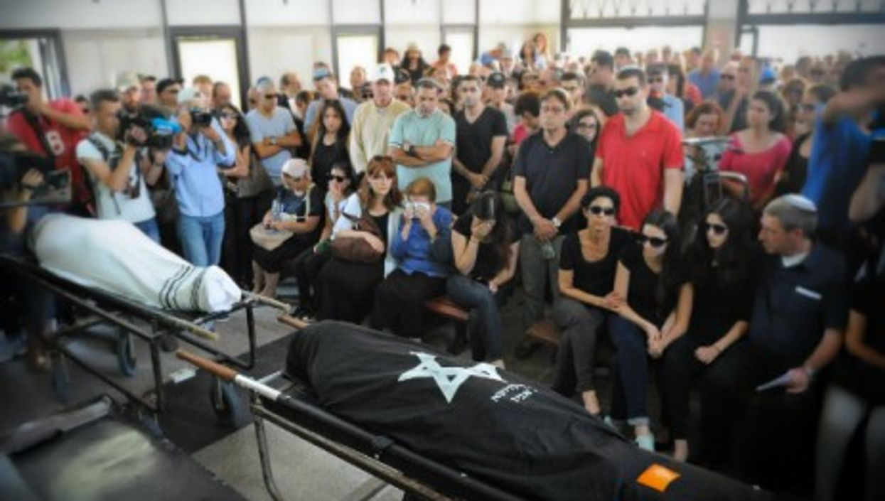 Tel Aviv funeral of the Israeli couple killed in the Brussels Jewish Museum shooting