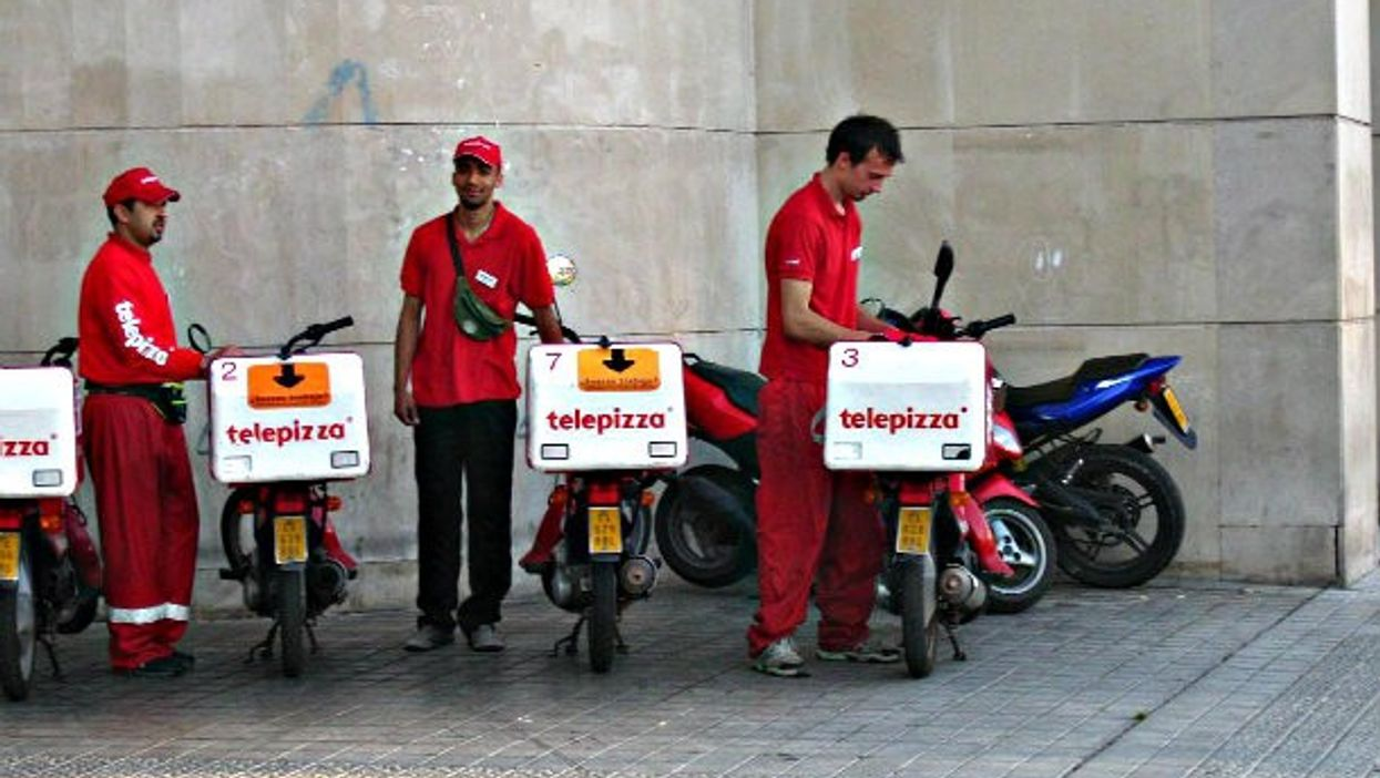 Telepizza is a Spanish company with affiliates around the world