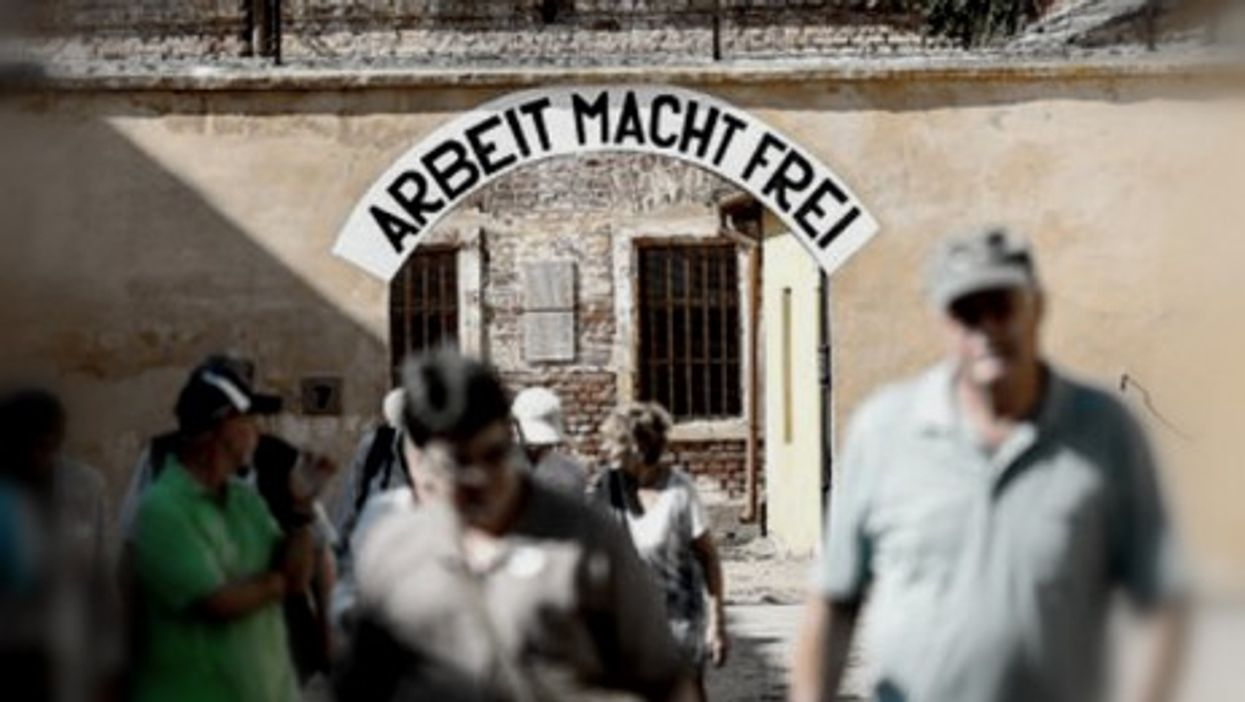 Terezin ghetto's entrance