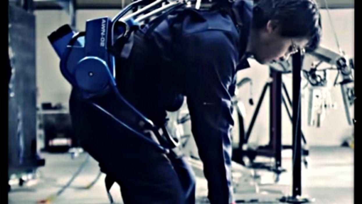 Testing an ActiveLink exoskeleton