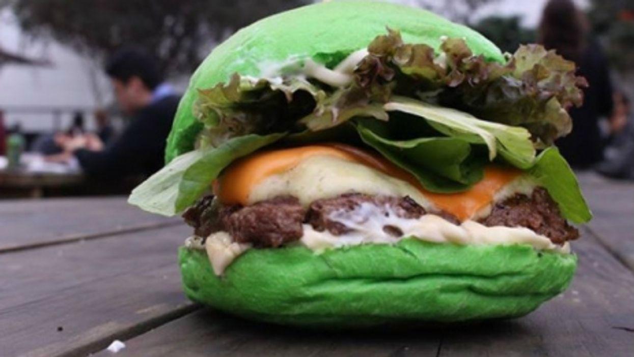 That, people, is a Brazilian hamburger.