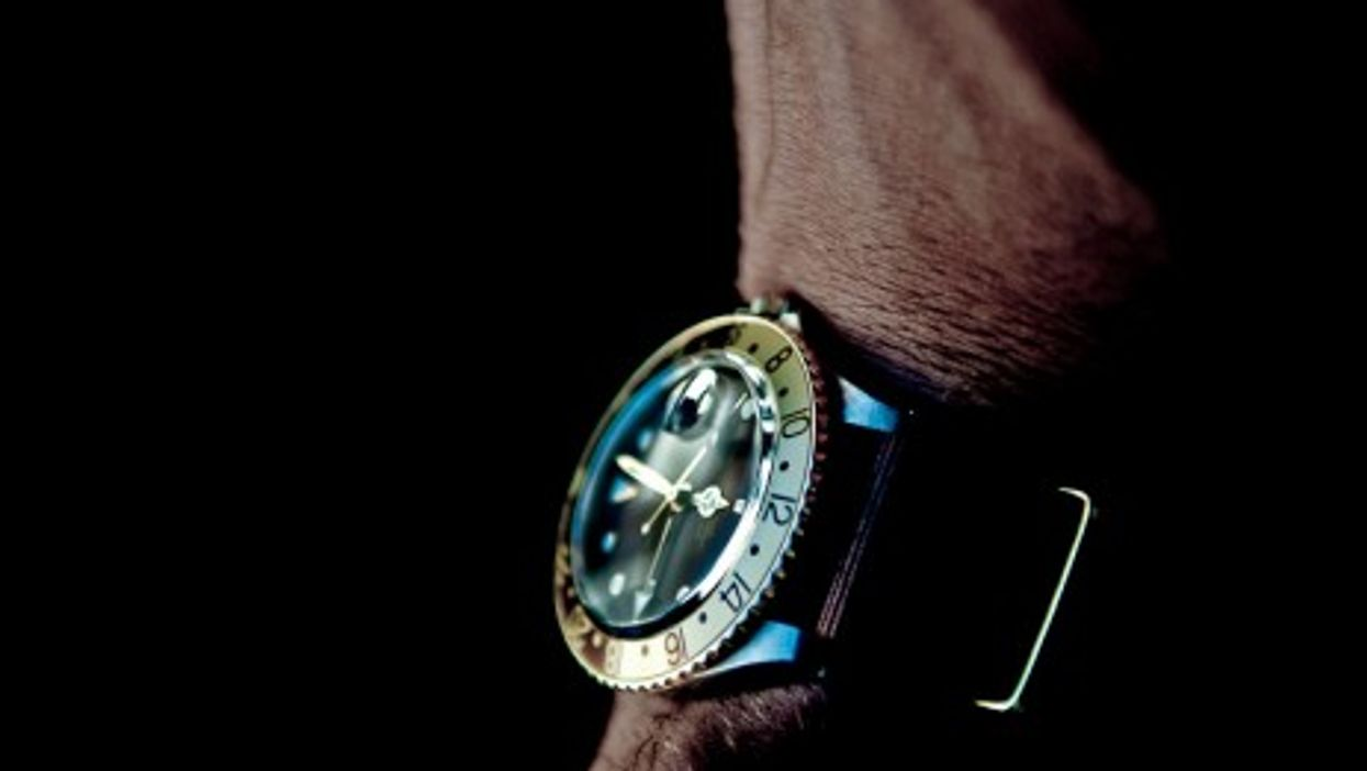 That Rolex won't come cheap, ever more so...
