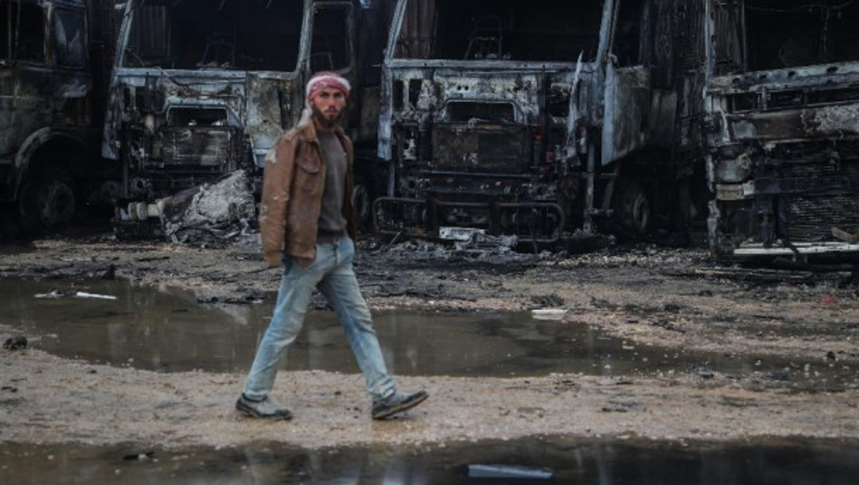 The 10years of fighting have left nearly 400,000 dead in Syria
