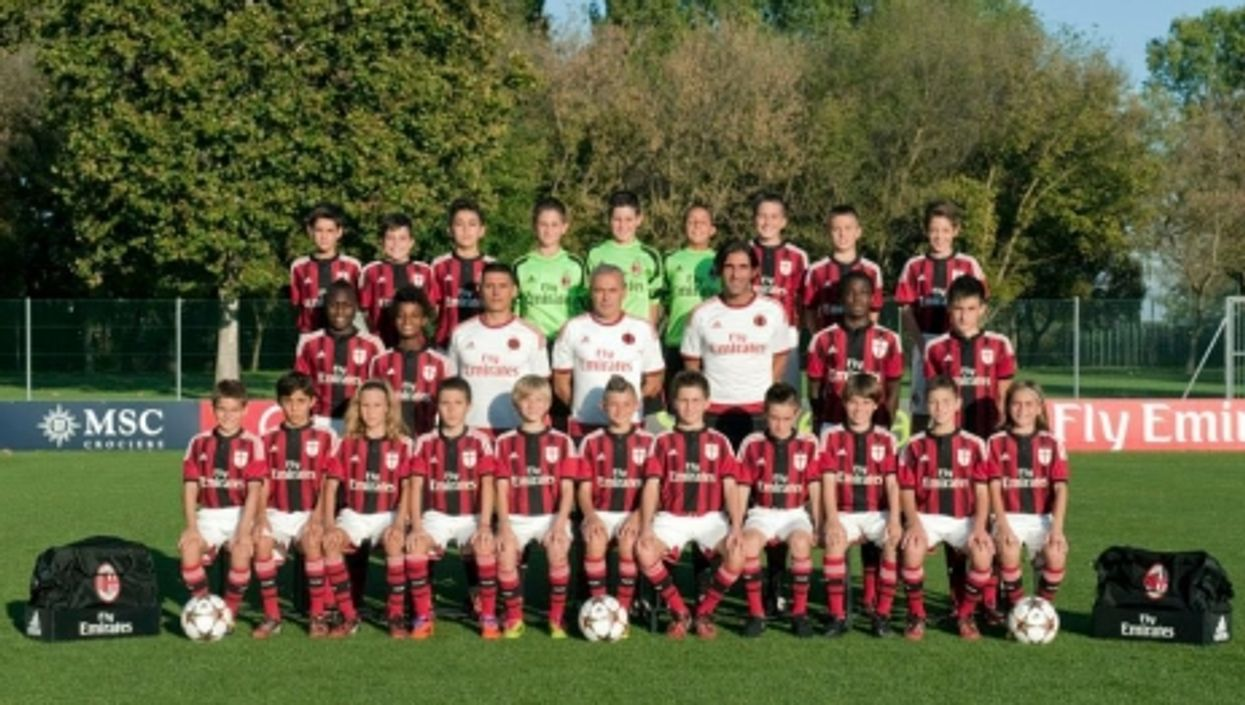 The AC Milan Under-10 Squad