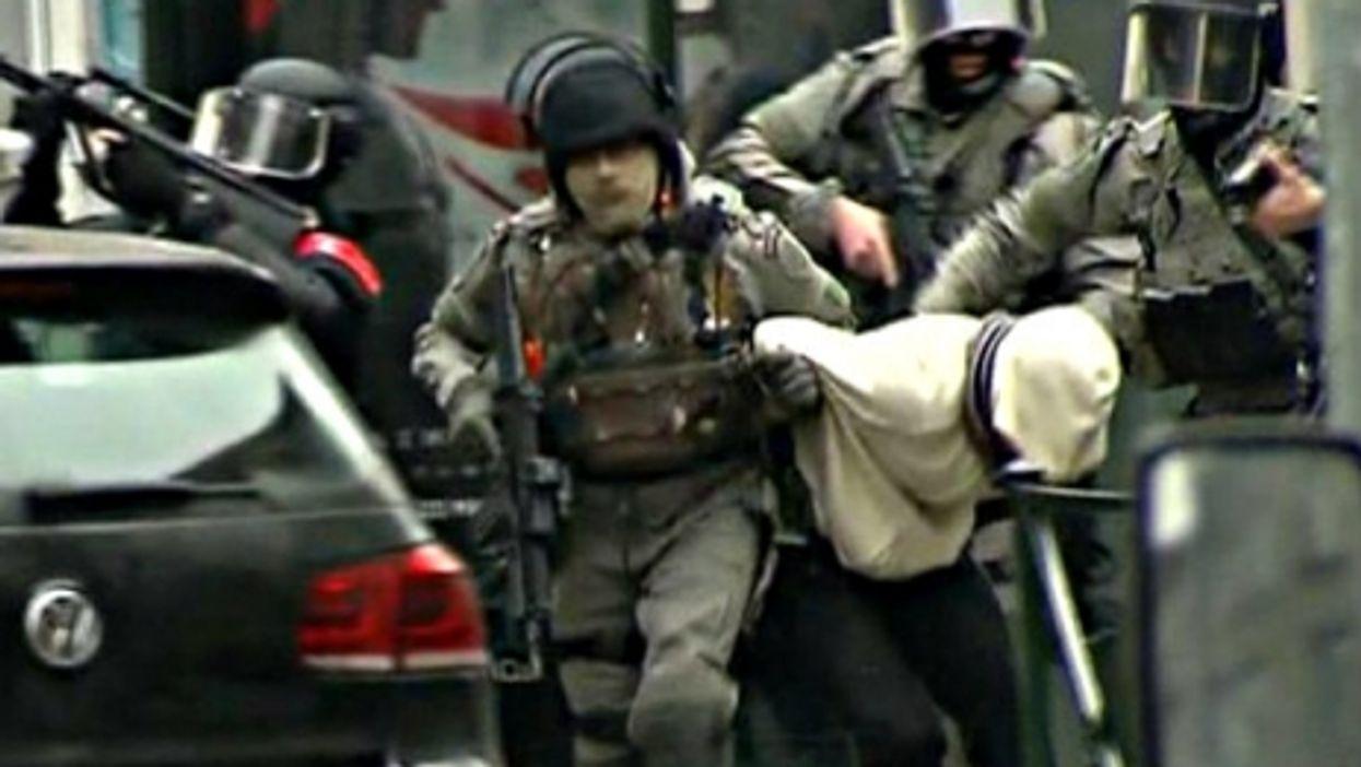 The arrest in Brussels of Paris attack suspect Salah Abdeslam