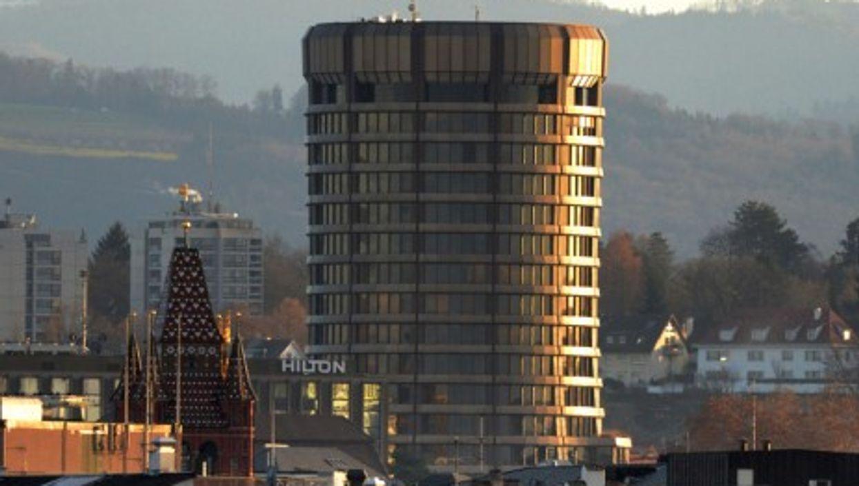 The Bank for International Settlement in Basel, Switzerland (Noel Reynolds)