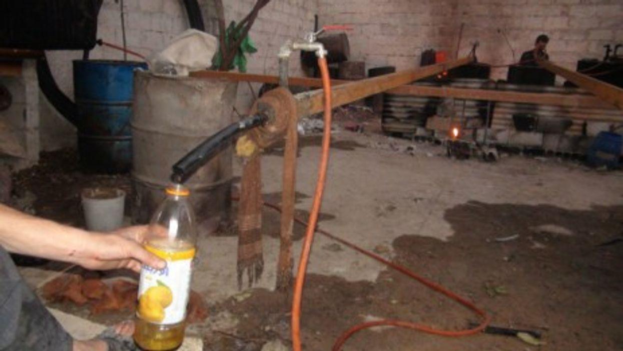 The basic kit for alternative oil