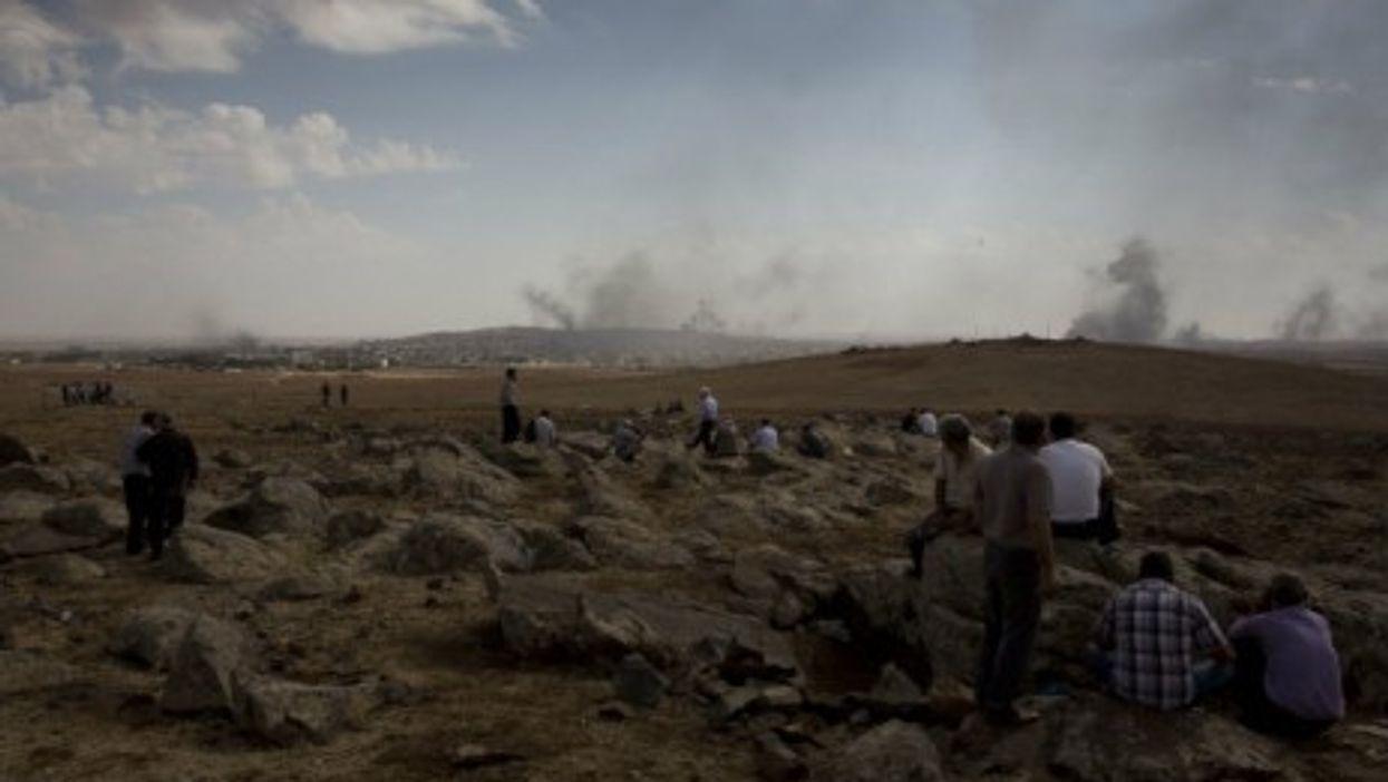 The battle for Kobani begins