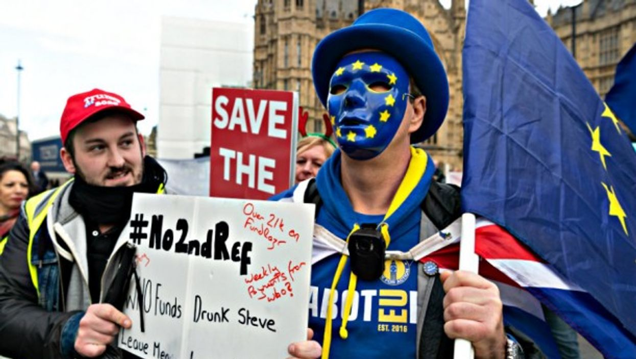 The battle over Brexit continues