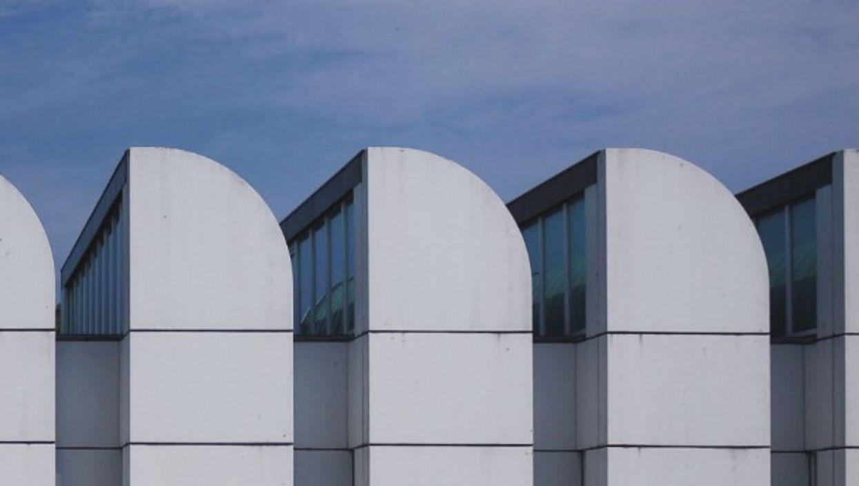 The Bauhaus-Archiv museum in Berlin, designed by Walter Gropius