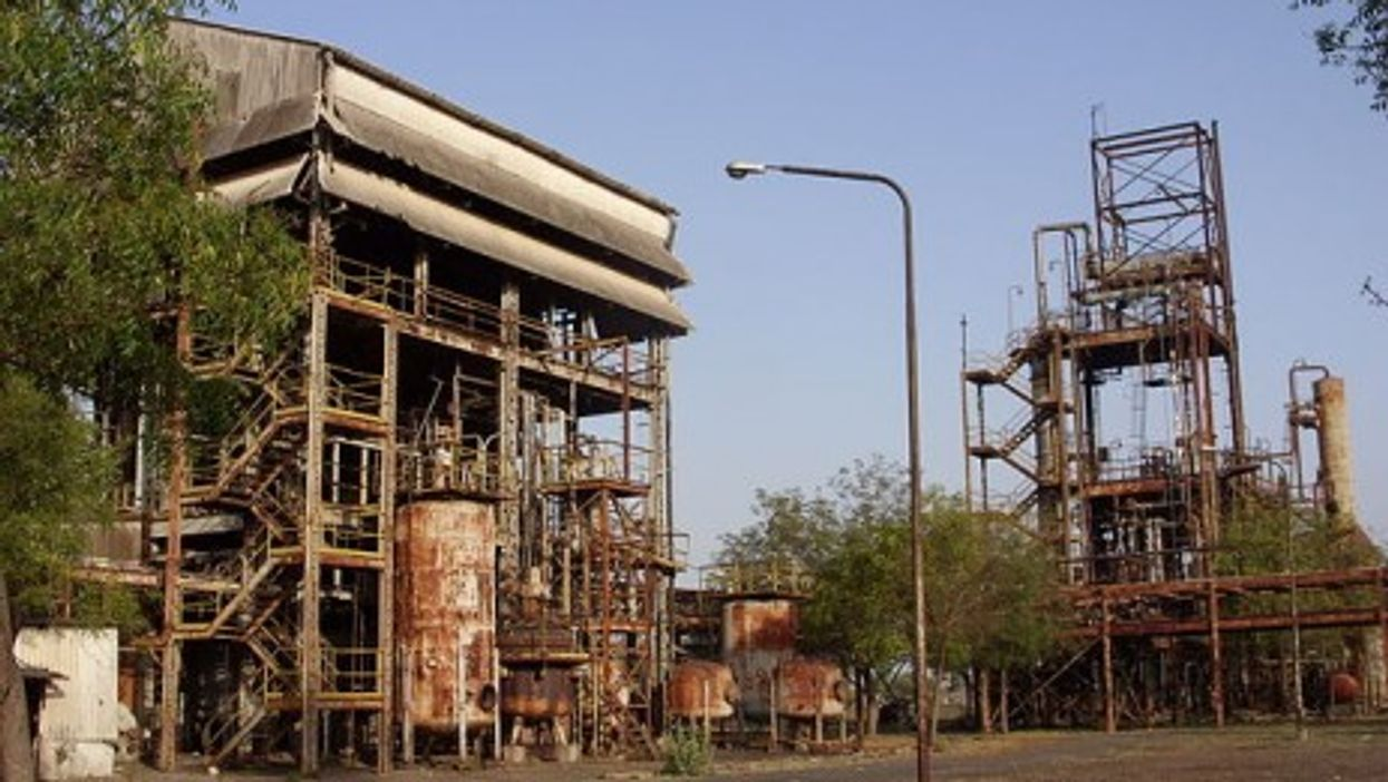 The Bhopal plant, abandoned but still deadly