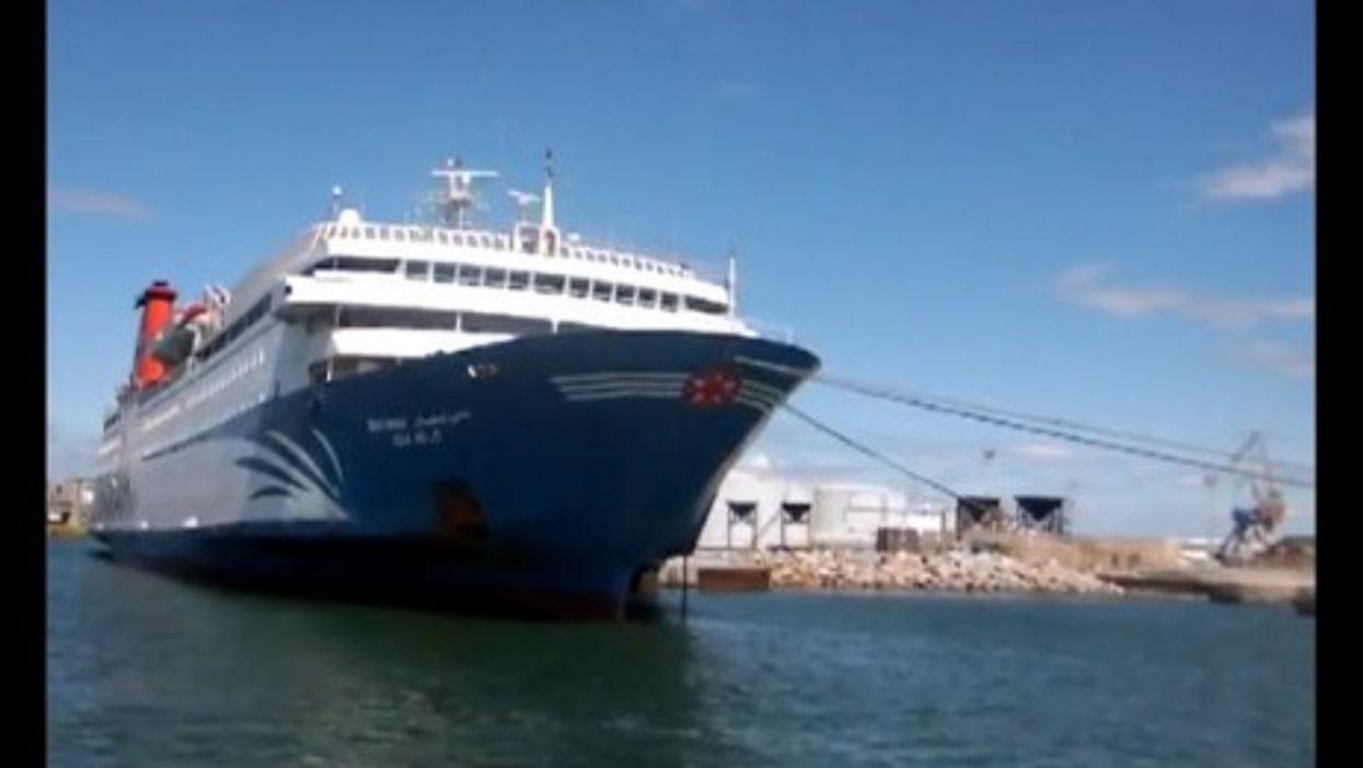The Bni N'sar in the harbor of Sète (Youtube)