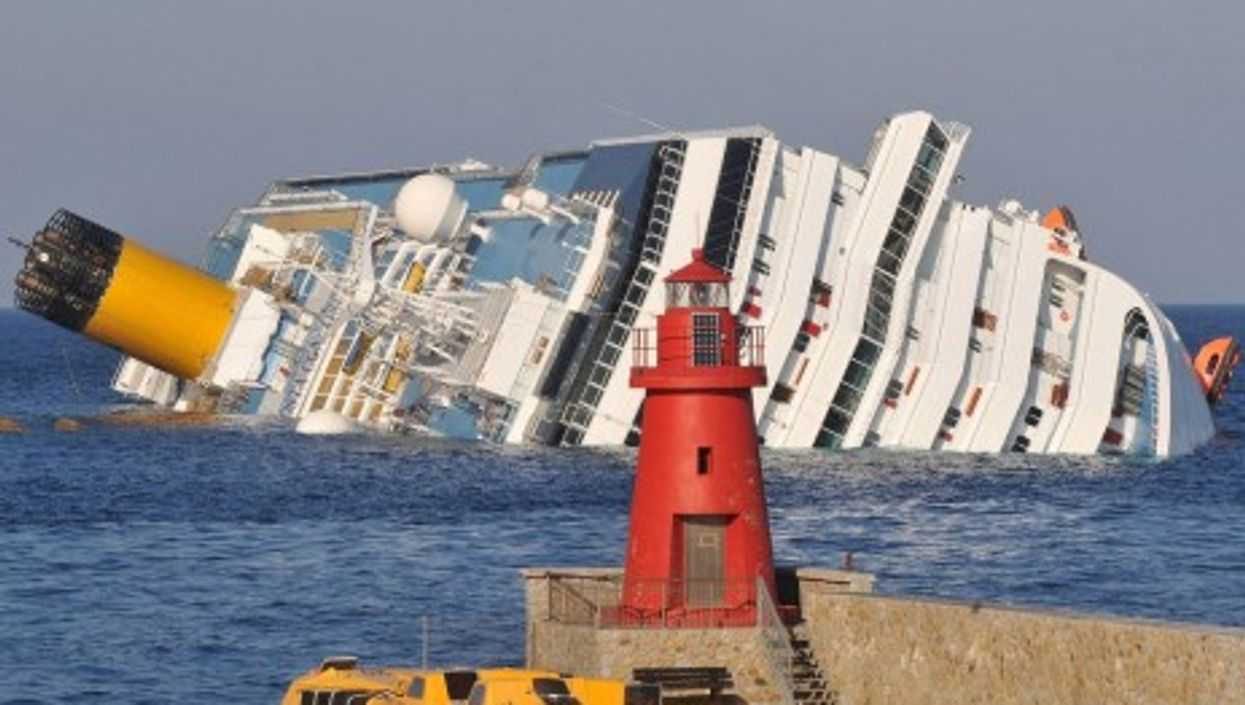 The captain of the Costa Concordia, which sank in 2011 off the coast of Italy, was one example of un-chivalrous practices.