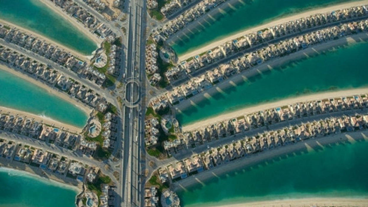 The Center Core of the Palm Jumeirah, Mar. 2008