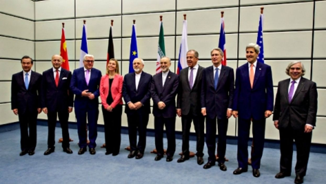 The chief negotiators in Vienna on Tuesday