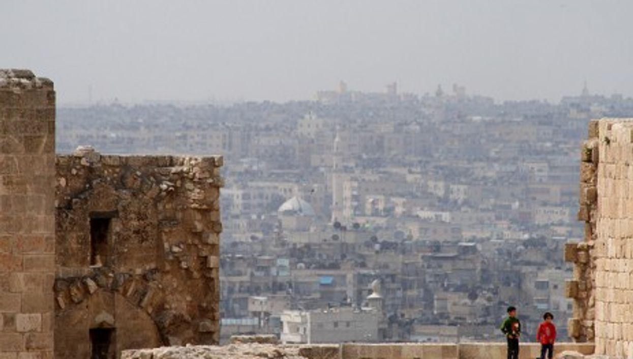 The Citadel of Aleppo, unlike al-Assad's regime, is still standing (edbrambley)
