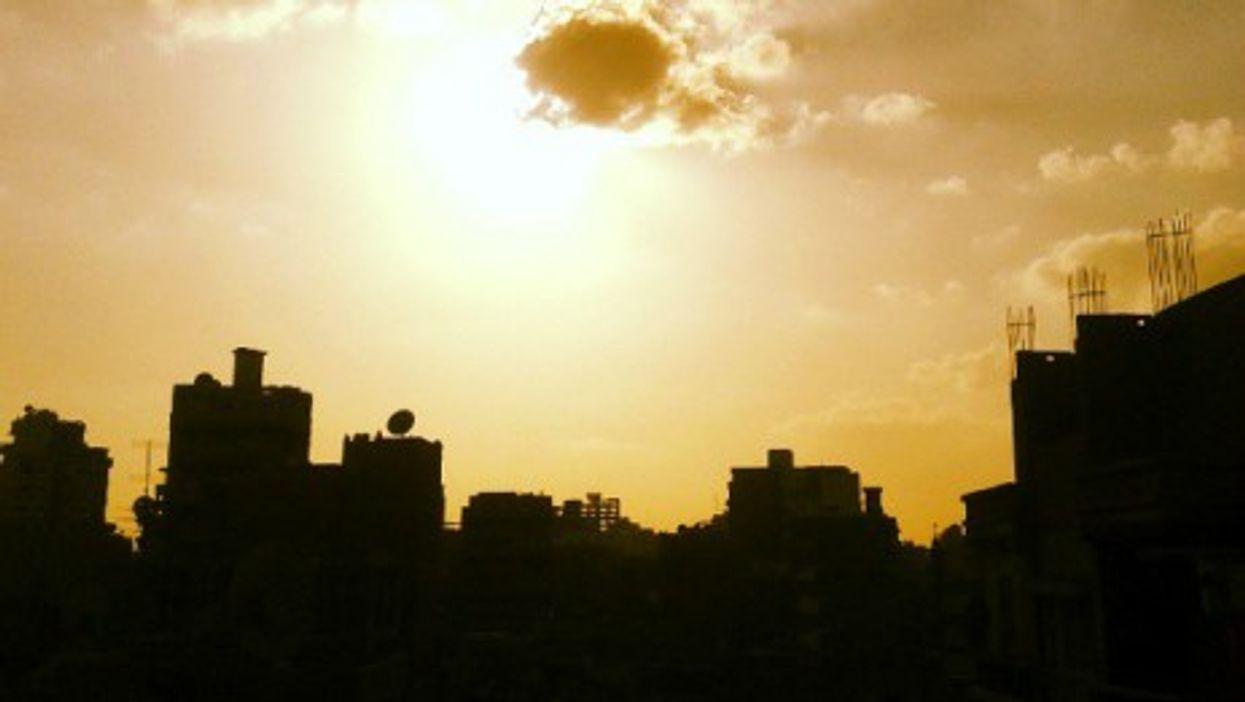 The city of Meit Ghamr, Egypt