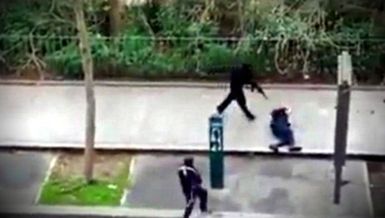 The cold execution of French police officer Ahmed Merabet