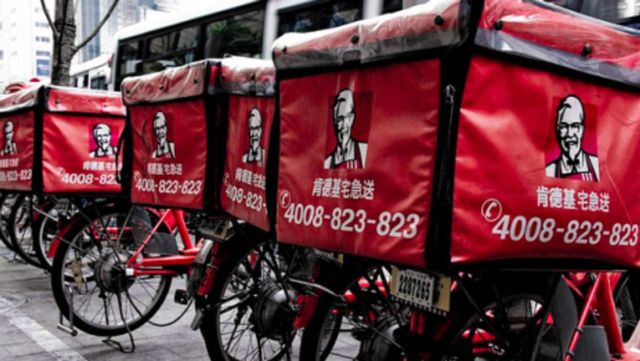 The Colonel has hit it big in China (Albert Law)