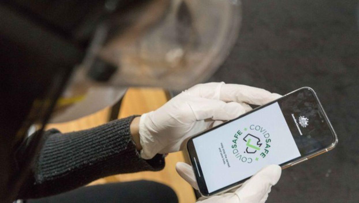 The COVIDSafe app in Australia