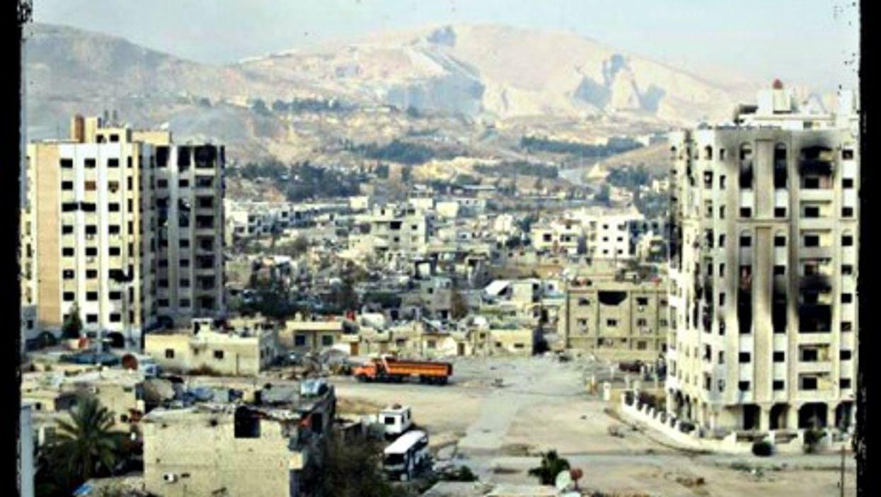 The Damascus suburb of Barzeh