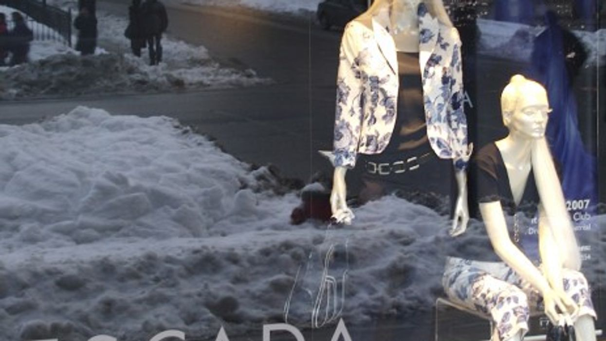 The Escada clothing brand is staging a comeback (Colros)
