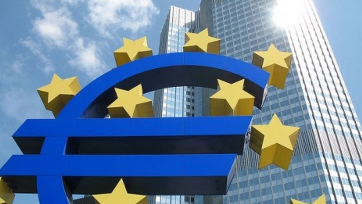 The Europen Central Bank (ECB) in Germany