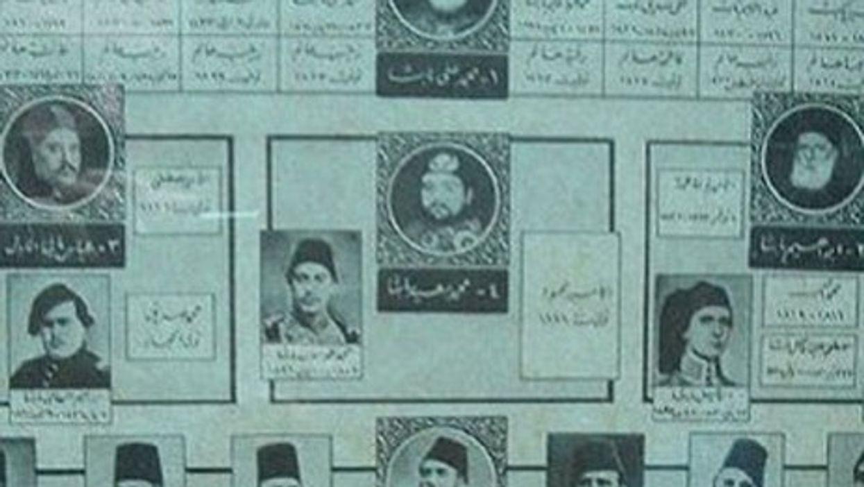 The family tree of Egypt's Muhammed Ali dynasty (Dlisbona)