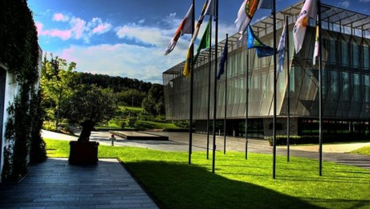 The FIFA headquarters in Zurich, Switzerland