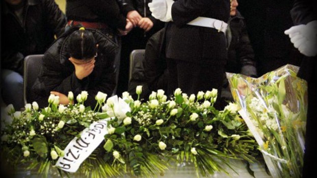 The funeral in Naples for 14-year-old Annalisa Durante