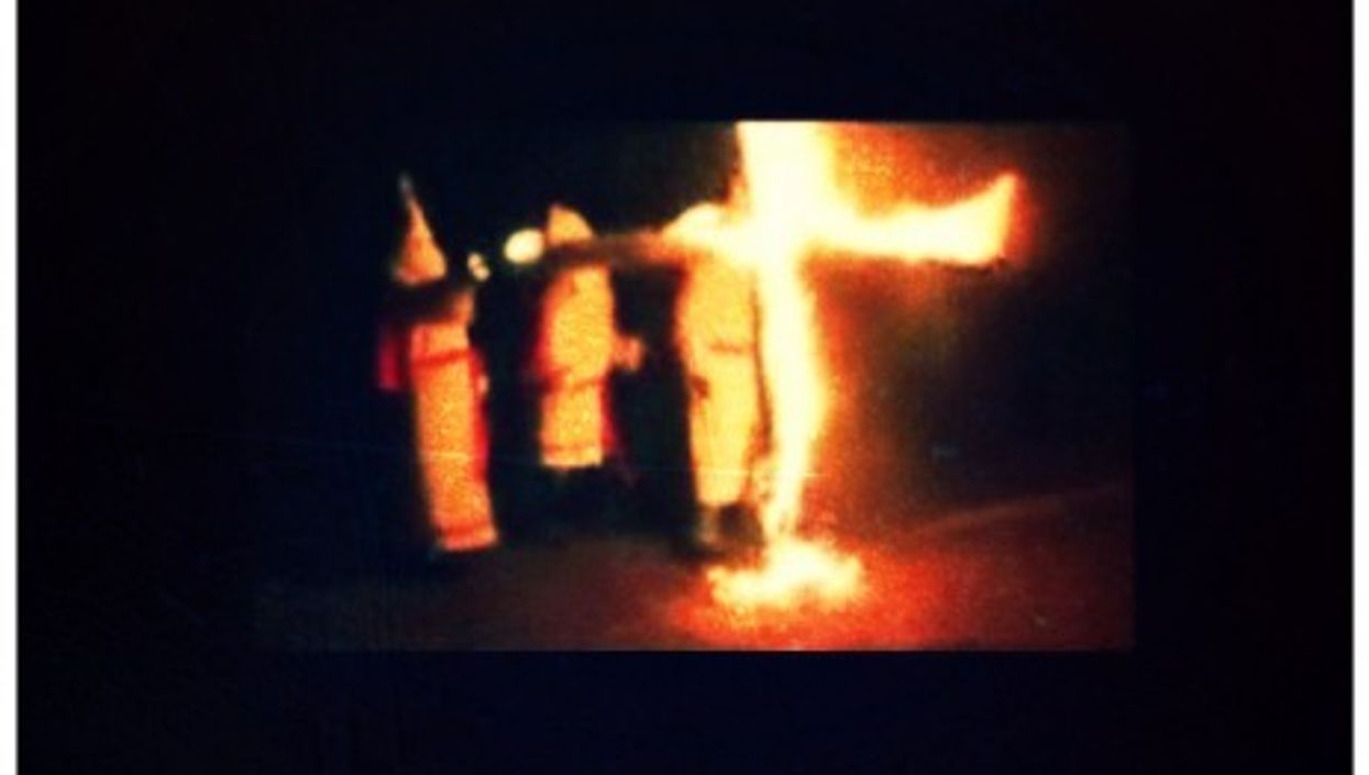 The German Branch Of The European White Knights Of The Burning Cross