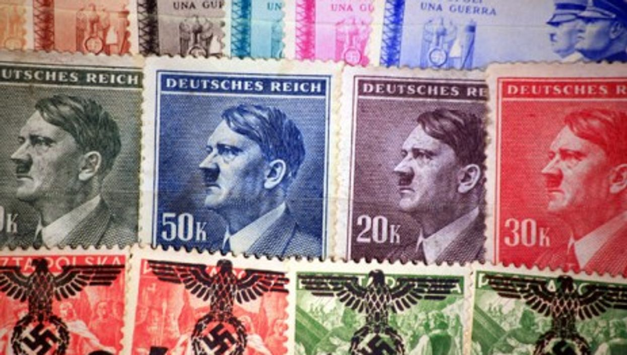 The German post office paid the Führer millions in royalties