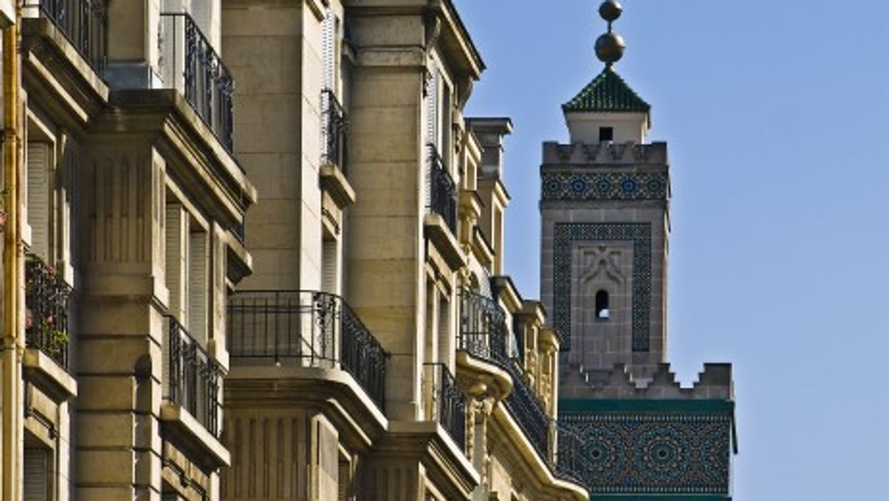 The great mosque of Paris is now part of the city's scenery (Stéphane Martin)