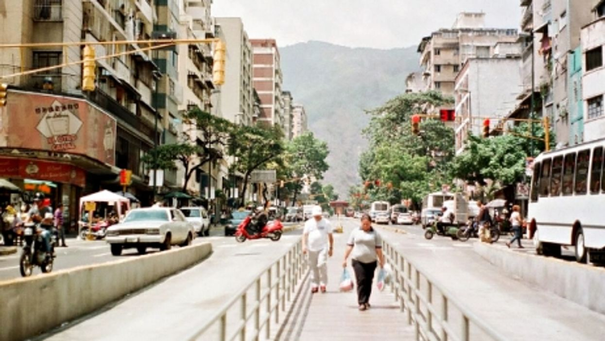 The heat is on in Caracas, Venezuela