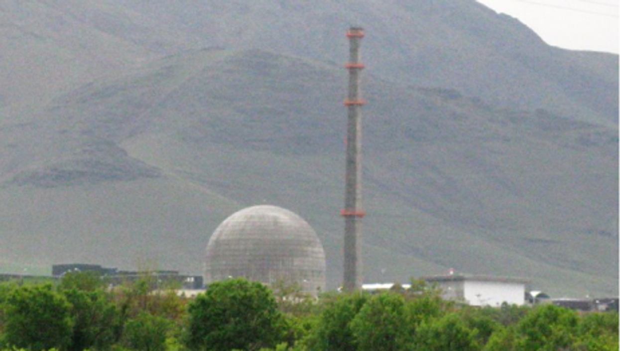 The heavy water facility in Arak, Iran (Wikipedia)