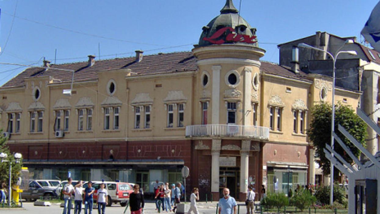 The historic center of Kosovska Mitrovica (Wikipedia)