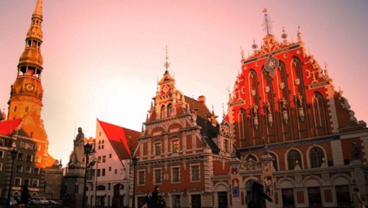 The historic old town in Riga, Latvia (Desmond Kavanagh)